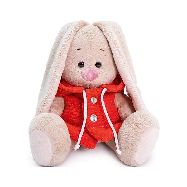 Soft Toy Budi Basa Bunny In A Waistcoat With Hood, 25 Cm