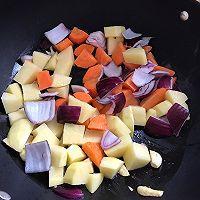 胡萝卜土豆炖牛腩的做法图解5