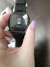 The watch came on time, almost discharged, charged, checked all the functions provided in