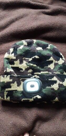 Headlamp Winter Hat - theluckyforestshop photo review
