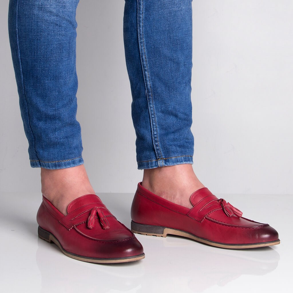 Sail-Lakers Burgundy Men 'S Daily Casual Shoes