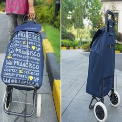 SOKOLTEC שקיות עגלת קניות עגלה