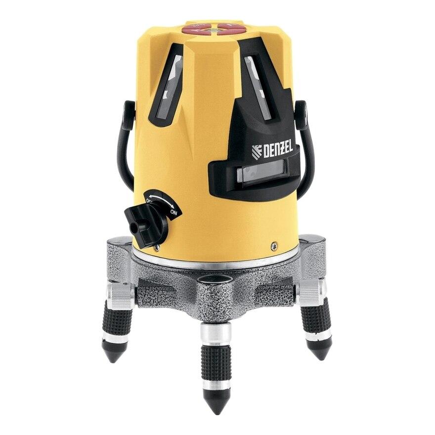 Laser level automatic DENZEL 35070 Operating range 10 m error 0.3mm tripod thread 5/8, автокомпенс