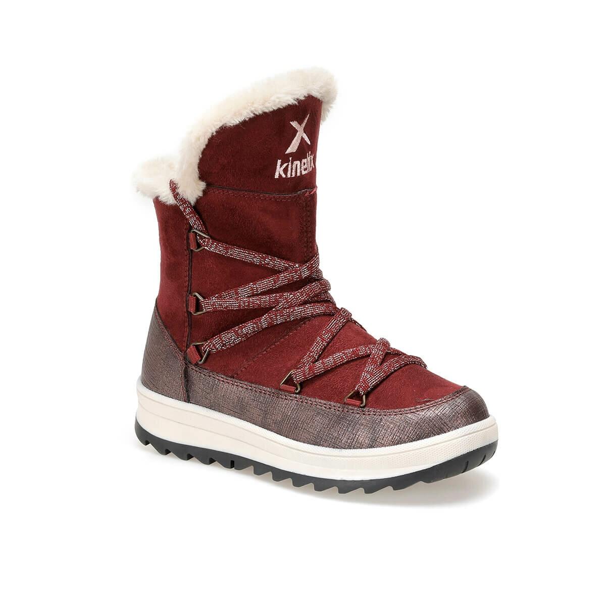 FLO HAVAIS 9PR Burgundy Female Child Boots KINETIX