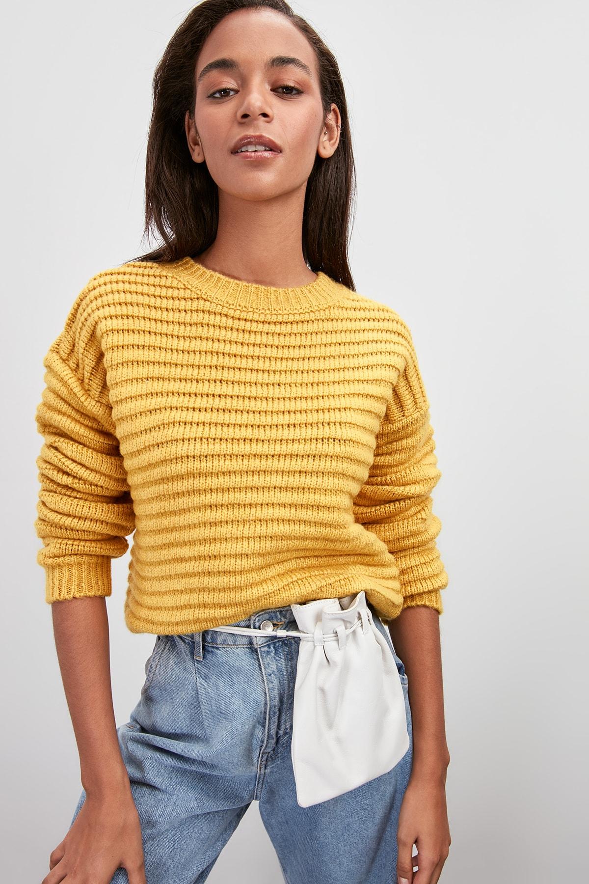 Trendyol Braided Sweater TWOAW20KZ0766
