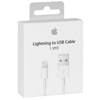 Apple Original cable Lightning to USB MD818 for iPhone 5S, SE, 6, 6S, 7, 8, X, 11, Pro, Plus, Max, iPad цена 2017