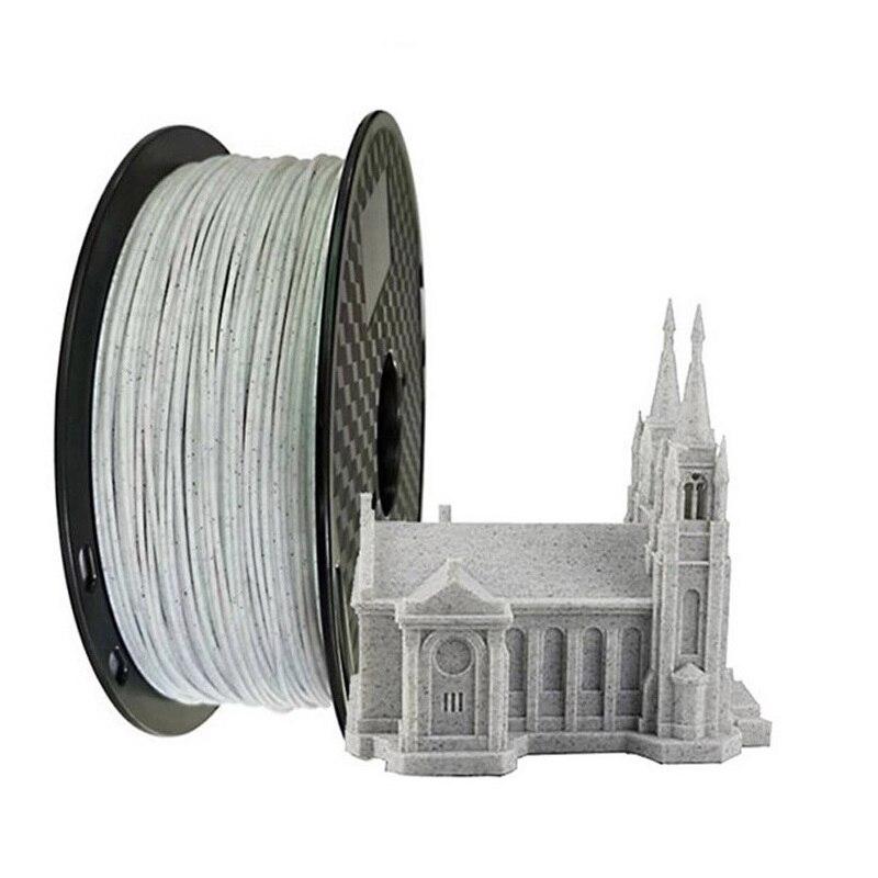 EasyThreed piedra de mármol 3D impresora PLA filamento 1,75mm 1 KG/2.2lb carrete de la impresora 3D filamento PLA Brasil almacén KIT de actualización PLA 2,0 Asistente de estacionamiento frontal 4K a 12K para VW Tiguan 5N 3AA 919 475 M/S
