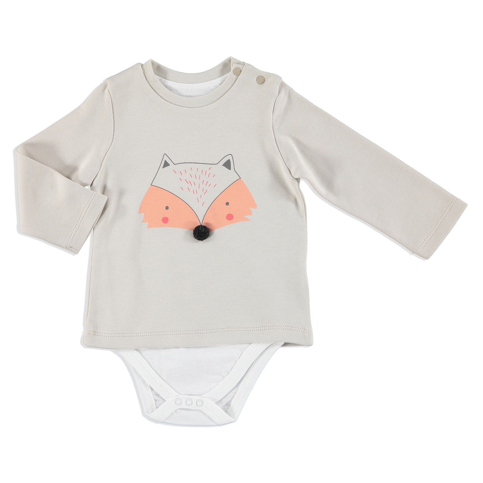 Ebebek HelloBaby Fun Forest Baby Bodysuit