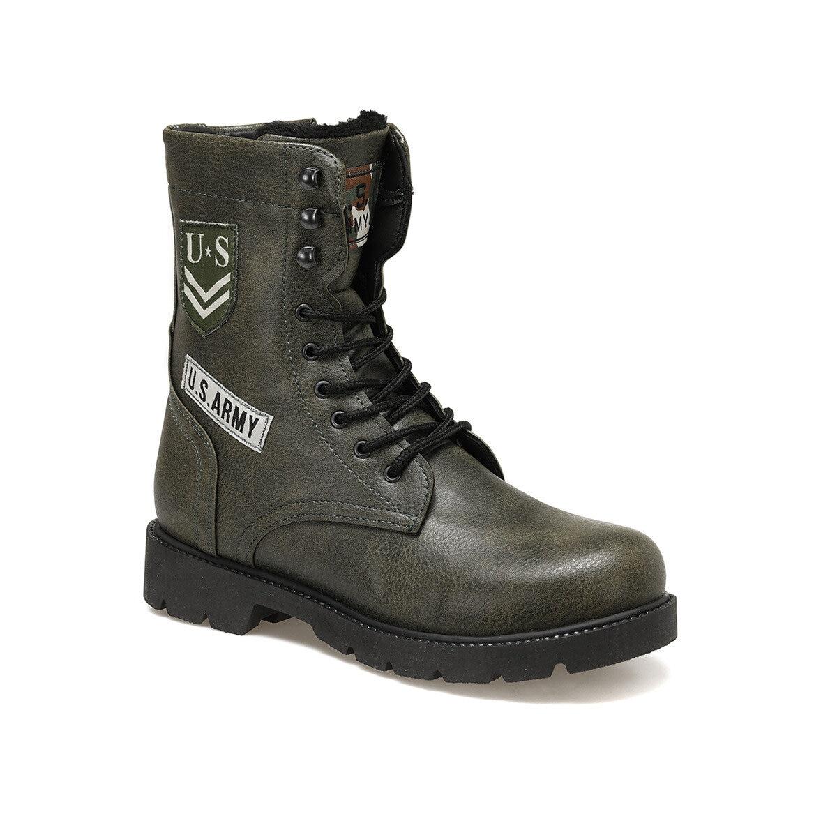 FLO EC-1002 Khaki Male Boots Forester