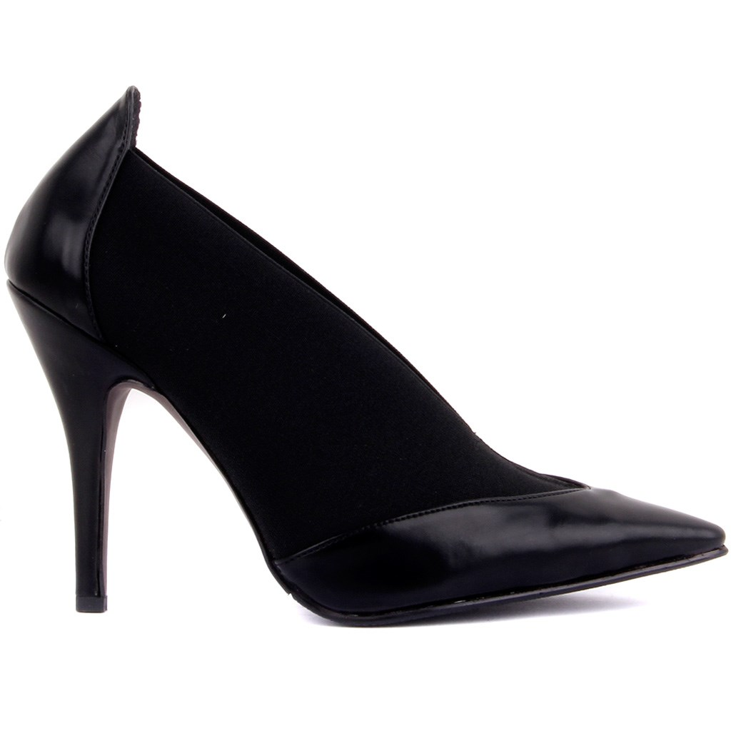 Guja-Black Female High-Heeled Shoes