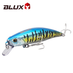 BLUX SPRINT 75SW Sinking Minnow Fixed Weight Fishing Lure 75mm 11G Wobbler Armed With BKK Hook Shore Rock Trout Bait Tackle