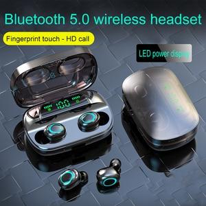 Image 3 - S11 TWS 3500mAh Power Bank Kopfhörer LED Bluetooth 5,0 Kopfhörer Kopfhörer Drahtlose HIFI Stereo Ohrhörer Gaming Headset Mit Mic