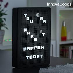 InnovaGoods Licht-Up Peg Bord