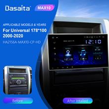 Dasaita 10 2 #8222 ekran HD 2 Din Radio samochodowe Android 10 0 uniwersalne samochodowe Stereo Multimedia dla Nissan nawigacja GPS z Bluetooth 64G ROM tanie tanio Double Din CN (pochodzenie) Rohs Zużytego sprzętu elektrycznego i elektronicznego NONE 1024*600 10 2 4*50W 3 5kg Ekran dotykowy