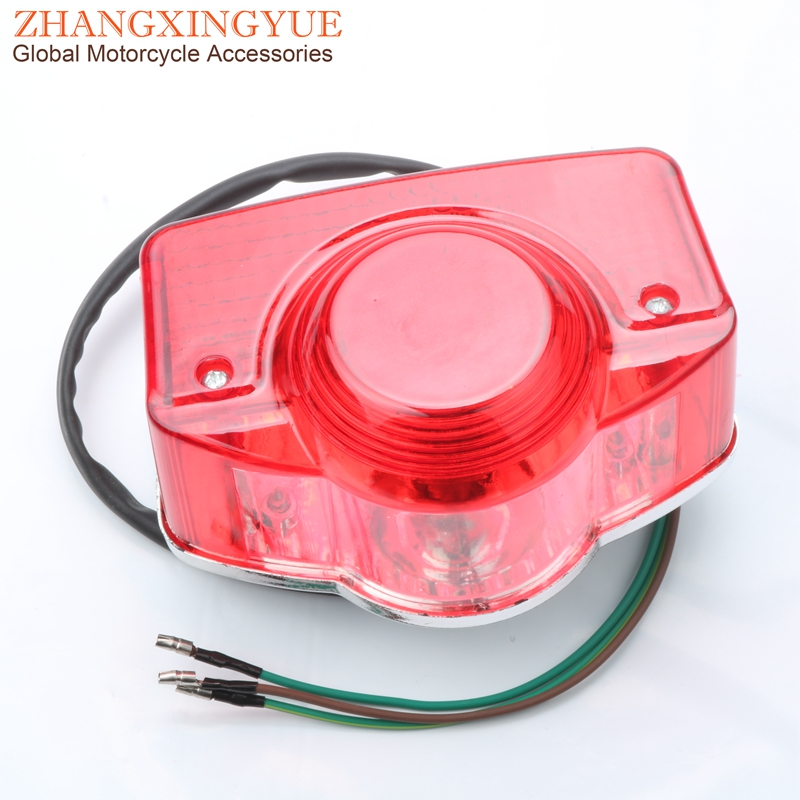 Motorcycle Tail Light For Honda C70 CL70 CL90 CT90 S90 CB100 CL100 CB125 CB175 CL125 SS125 CL175 33701 33700