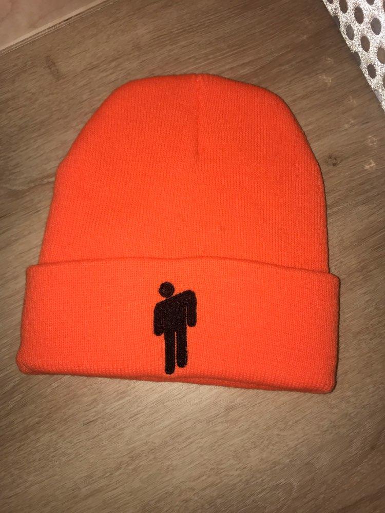 Bonnet tendance tricoté unisexe avec logo 12 couleurs