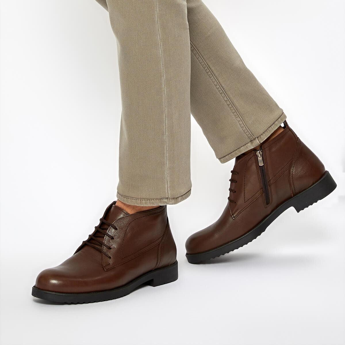 FLO 92. 100934.M Black Men Boots Polaris 5 Point