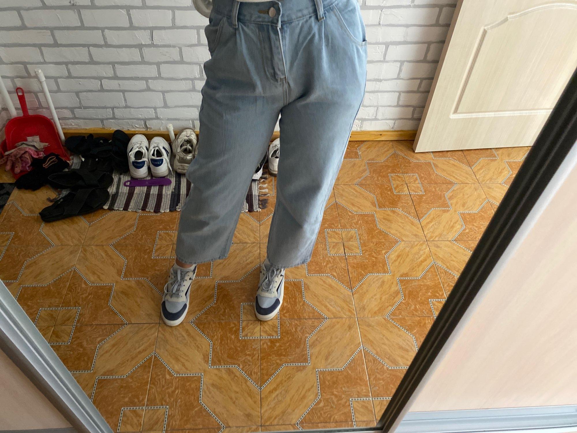 Egirl Y2K High Waist Wide Leg Jeans photo review