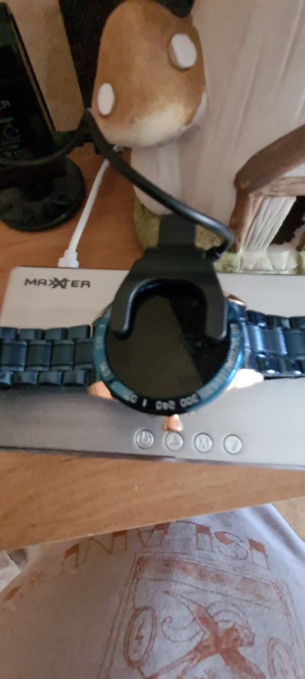 Montre connectée LIGE métal étanche pour homme - Suivi sportif multi-fonction