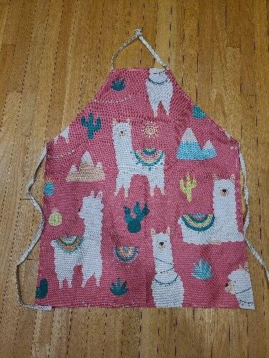 Alpaca Llama Cactus Printed Sleeveless Apron photo review
