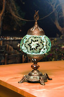Turkish Handmade color mosaic table lamps new unique