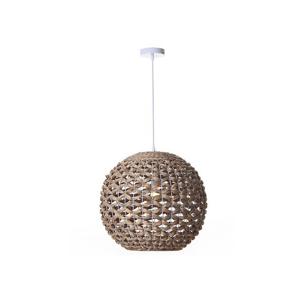 Ceiling Light (51 x 51 x 46 cm) Water hyacinth|Pendant Lights| |  - title=