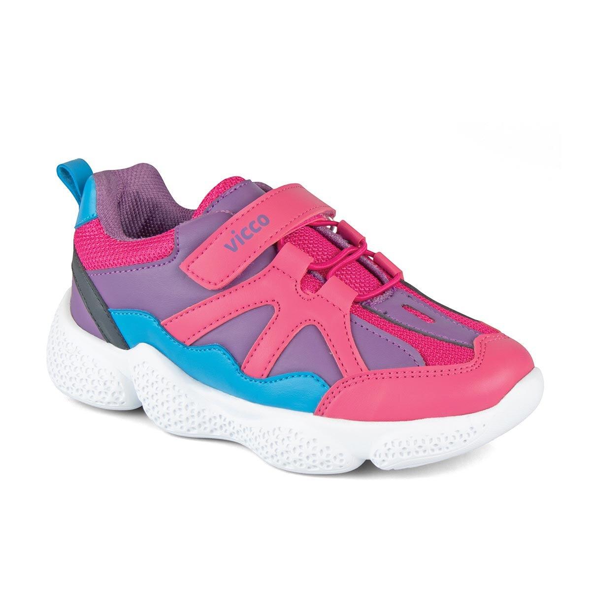 FLO 346. P19K. 133 BOOTIES PHYLON Fuchsia Female Child Sneaker Shoes VICCO