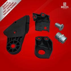 Bross BHL514 Headlight Headlamp Housing 2048201114 Repair Kit Mounting Bracket Left Side for  C-Class W204 2008-2014