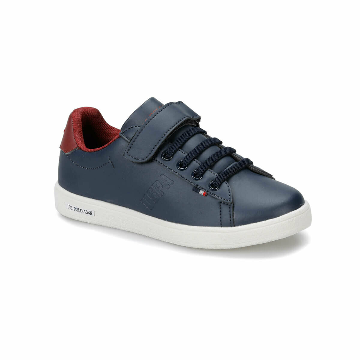 FLO FRANCO Navy Blue Male Child Sneaker Shoes U.S. POLO ASSN.