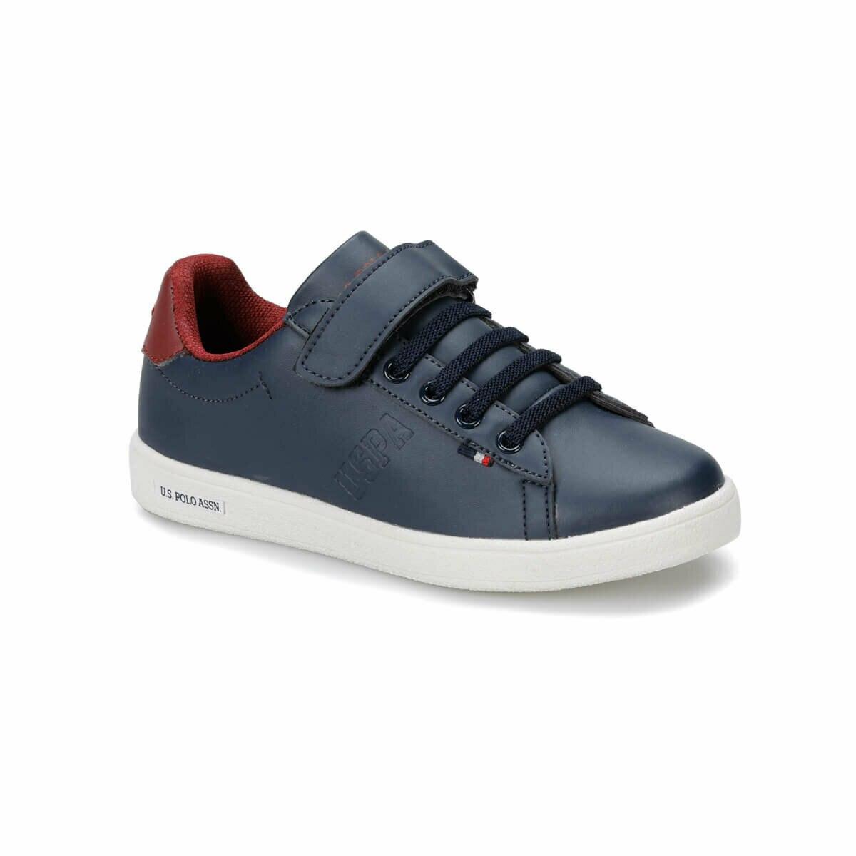 FLO FRANCO Navy Blue Male Child Sneaker Shoes U.S. POLO ASSN.