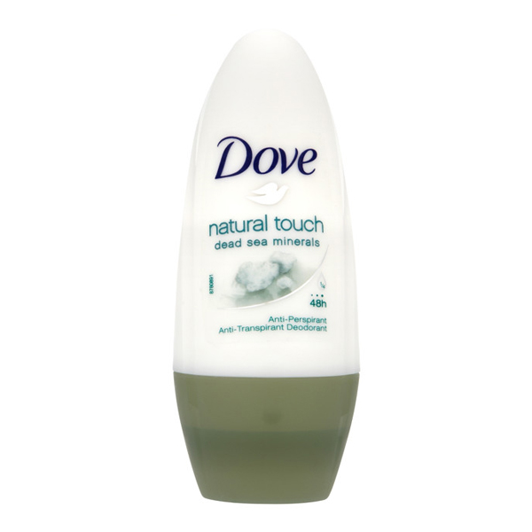 Roll-On Deodorant Natural Touch Dove (50 Ml)