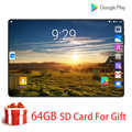 Original 10 pouces tablette Pc octa core 4G LTE appel téléphonique Google marché GPS WiFi FM Bluetooth 10.1 tablettes 6G + 128G Android 9.0 Pad