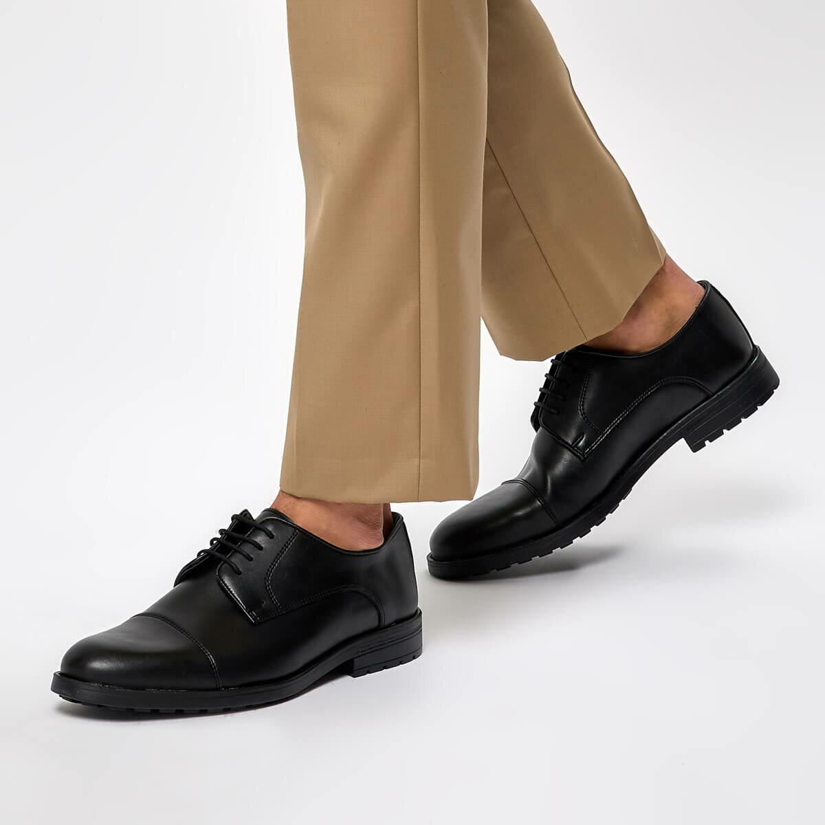FLO 204-5 Black Men 'S Classic Shoes JJ-Stiller