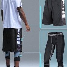 Мужские и детские баскетбольные комплекты, спортивный тренажерный зал, быстросохнущие тренировки, шорты и колготки для мужчин, футбольные ...