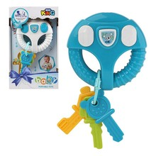 Интерактивная игрушка для малышей голубая