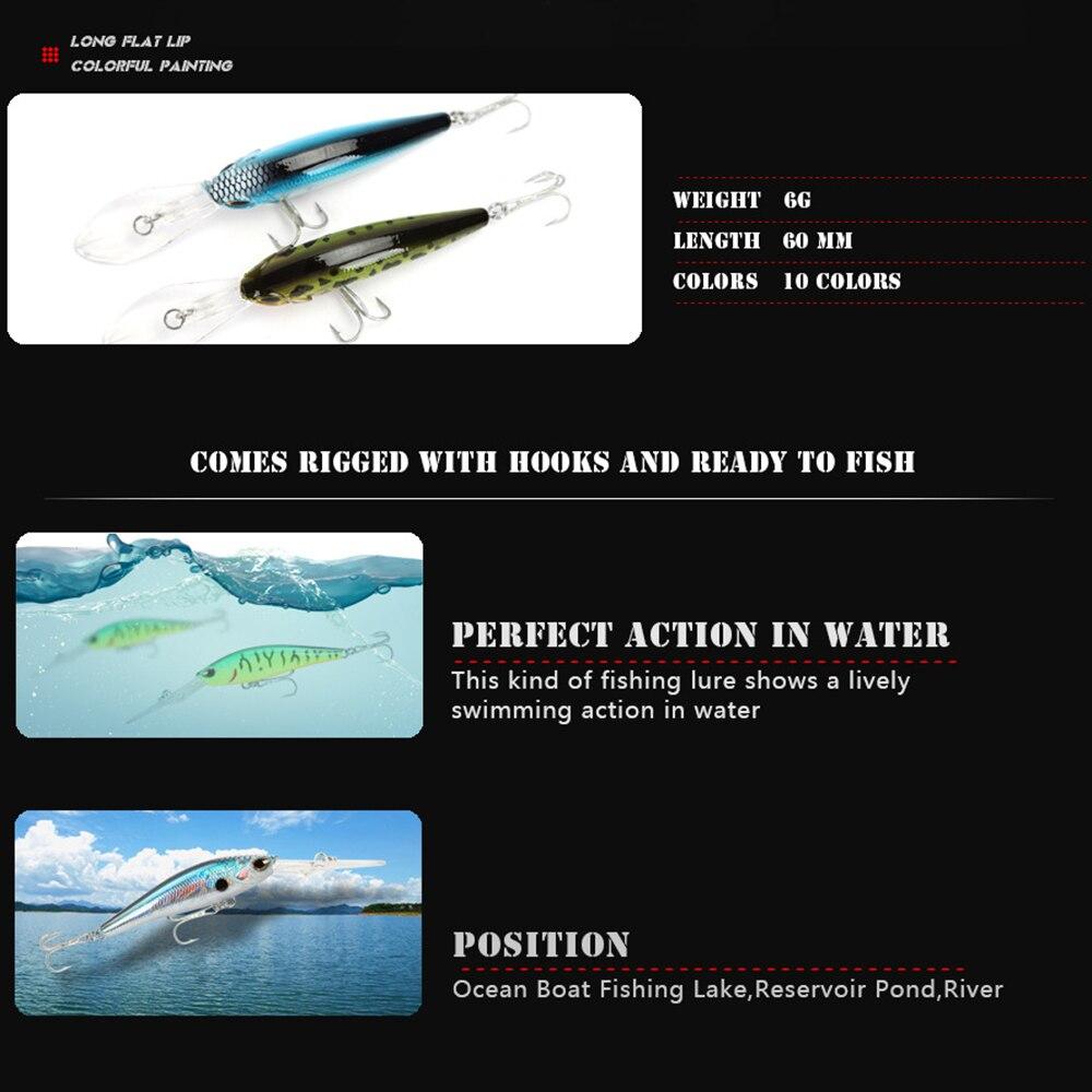 Купить 5 шт воблер для рыболовной наживки minnow 9cm6g воблеры вибрация
