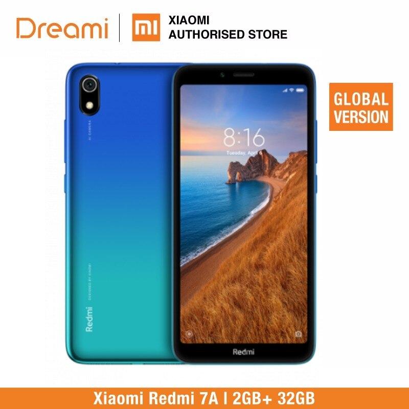 Version globale Xiaomi Redmi 7A 32 GB ROM 2 GB RAM (tout neuf et scellé) 7a 32 gb - 2