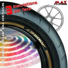Kit de llantas Liserets para CB600F CBF CB 600 F pegatina adhesiva pegatinas cinta tuning rim calcomanía de rueda