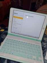 So, after 3 months, the keyboard came, but here the questions are not to the store, but to