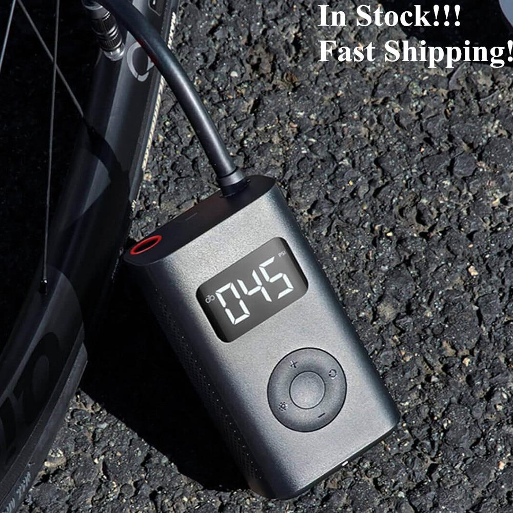 Xiaomi MiJIA велосипедный насос 150PSI 2000mAh микро USB зарядка алюминиевый сплав воздушный насос для шин надувной насос для автомобиля спортивный мяч