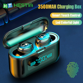 3500MAH Bluetooth 5.0 Earphone 8D Hifi Stereo Wireless Earphones Mini Headphones TWS Sport Waterproof Headset For IPhone Android