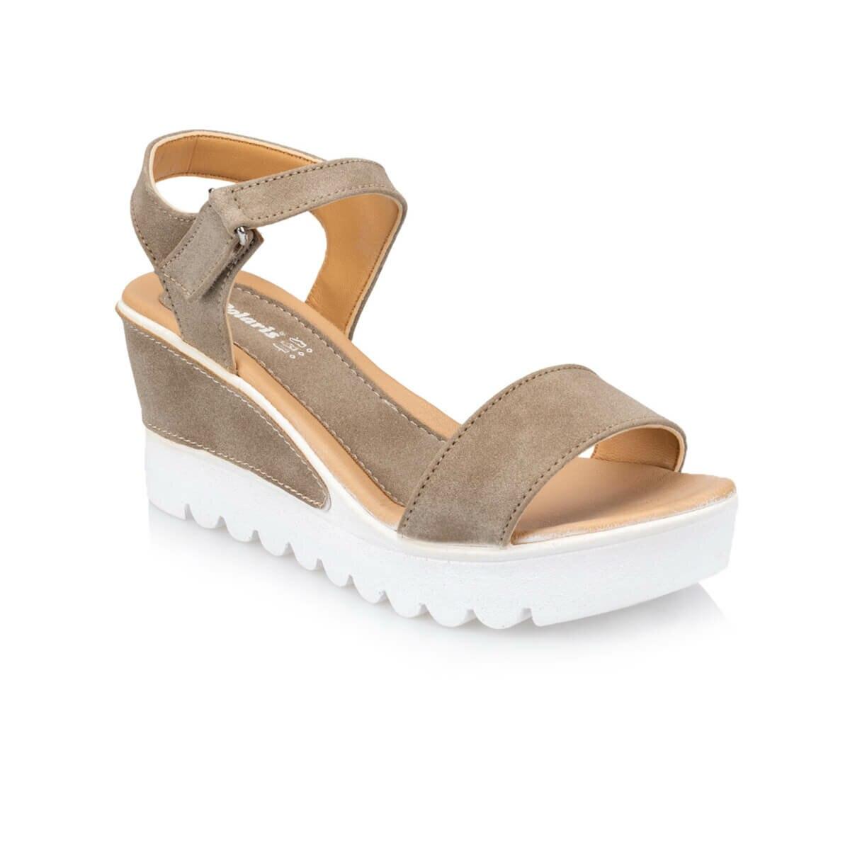 FLO Women's Sandals Summer Sandals Wedge Sandals Women 2020 Shoes Woman Polaris 91. 309983.Z Mink