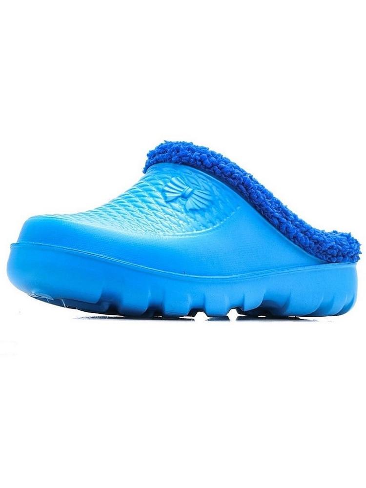 Сабо женские JanettСБ 201 Ока,зимние теплые тапочки,обувь, домашние тапки, повседневные кроксы с мехом, удобные домашние тапочки|Обувь без каблука| | АлиЭкспресс