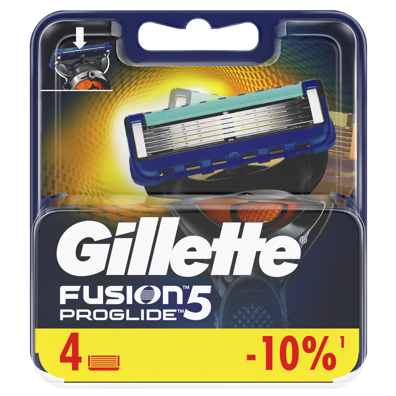 Gillette Fusion5 ProGlide Replaceable Cassettes 4 pcs. цена 2017