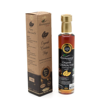 Harmanyeri Organic Black Seed (Black Cumin Seed) Oil  250 ml. Nigella sativa nigella sativa immunomoulatory effect in carcinogenic mice