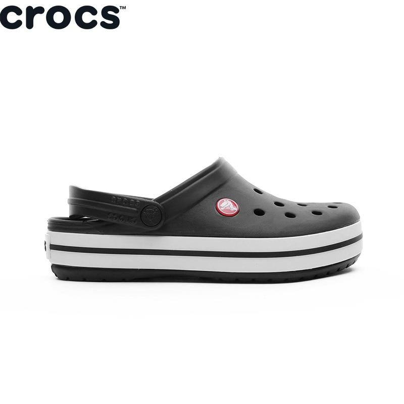 Crocs-Zapatillas De Color Negro Unisex, Original, 11016 – 001