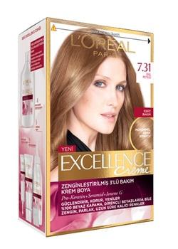 Loreal doskonałości farba do włosów 7 31 plaster miodu 247230961 tanie i dobre opinie