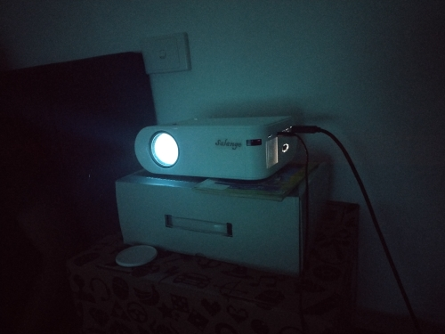 LED Video Beamer Projector For Mobile Phones photo review