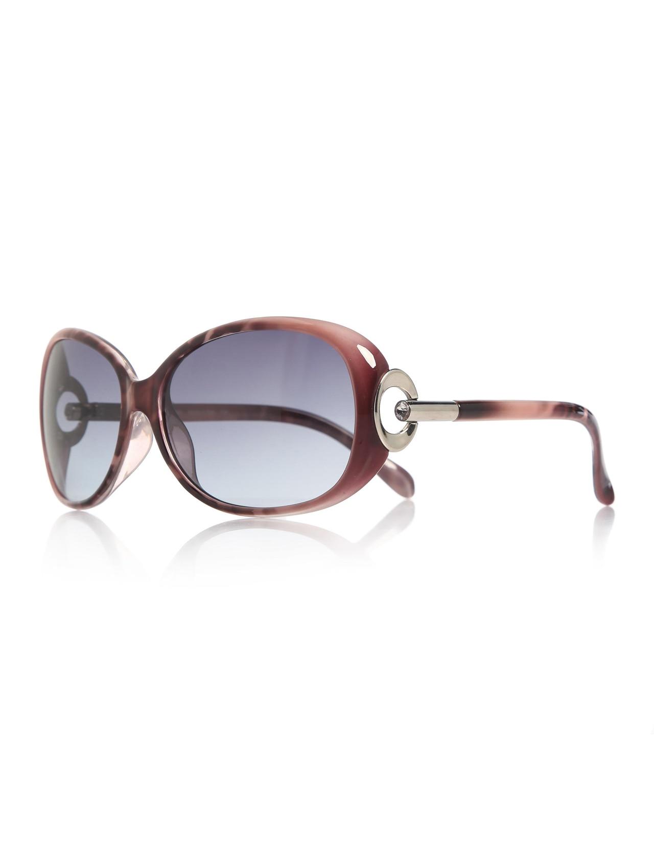 Women's sunglasses e 1623 8513 bone purple organic 62 -- exess