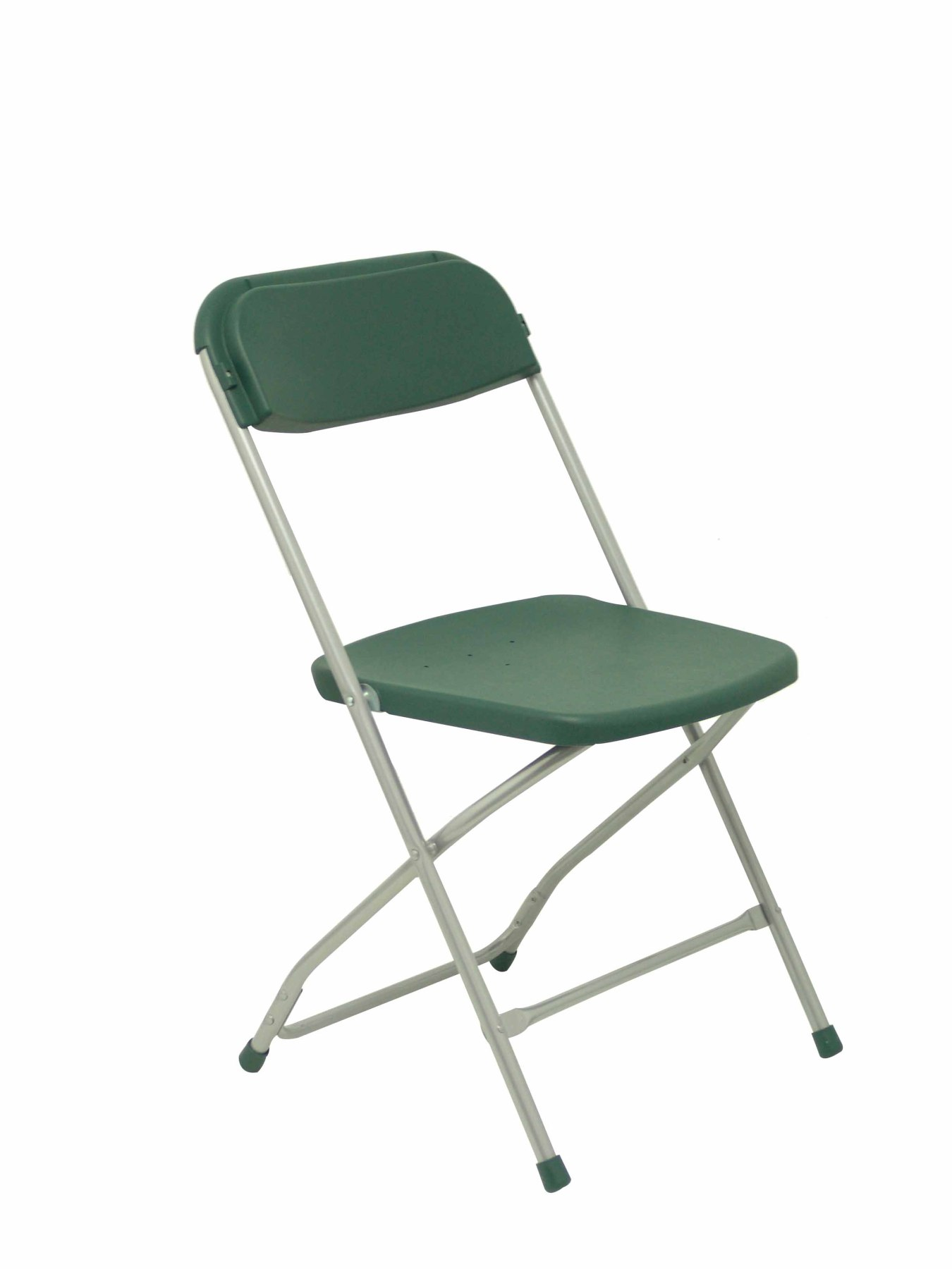 Pack 5 Folding Chairs Conference Seat And Backrest Polypropylene Green PIQUERAS & CURLED Model Nurseries